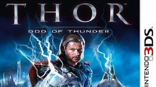 Thor God of Thunder Gameplay {Nintendo 3DS} {60 FPS} {1080p}