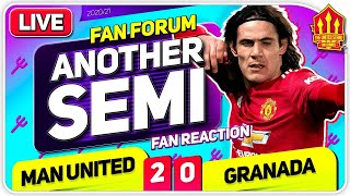 All Roads Lead To Roma! Man United 2-0 Granada | LIVE Fan Forum