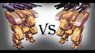 Fury (Avenger) Vs Fury (Tempest) Test | War Robots