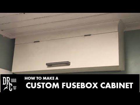 Custom Fusebox Cabinet How to make - YouTube