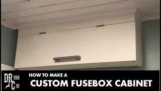 custom fusebox cabinet    how to make - youtube  youtube