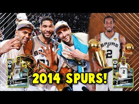 THE 2014 SAN ANTONIO SPURS!! THE GREATEST TEAMS OF ALL TIME #1 | NBA 2K17 MyTEAM SQUAD BUILDER