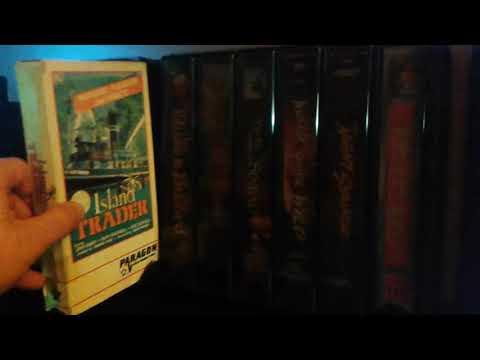 RARE VHS STORAGE CASE