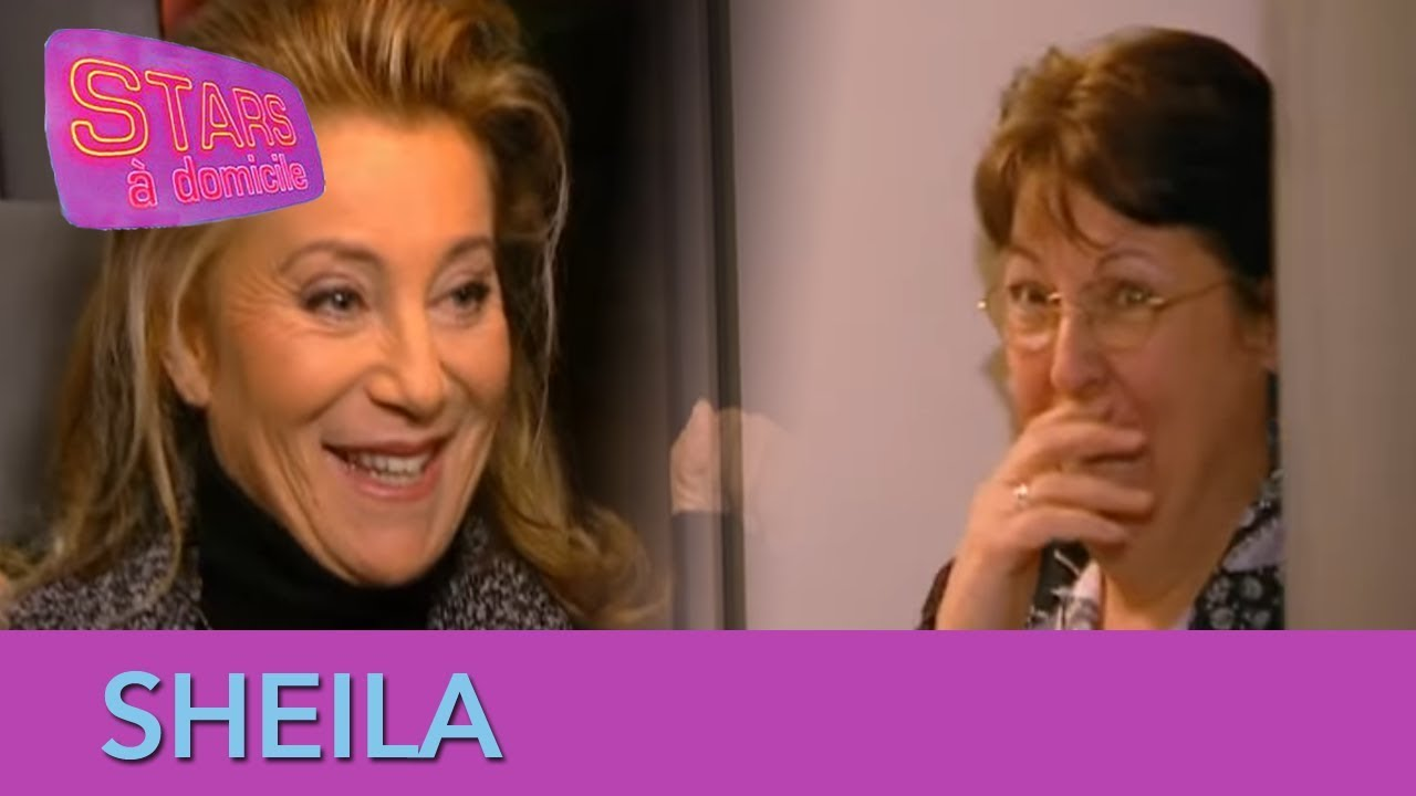 Sheila sonne chez une fan ! - Stars à domicile