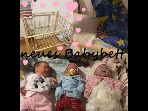 Neues Bett Einrichten Reborn Baby Youtube