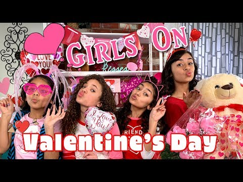 Girls On Valentine's Day - ft. Scarlet Spencer from Nickelodeon Cousins For Life // GEM Sisters Mp3