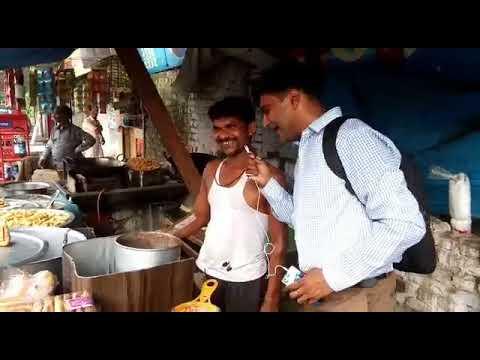 Tea Vendor is happy from Ananda Dairy
