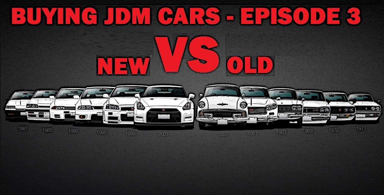 buying jdm cars online episode 3 new vs old youtube. Black Bedroom Furniture Sets. Home Design Ideas