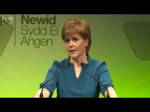 Nicola Sturgeon's speech at #Plaid16