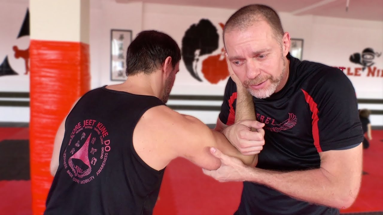 Biceps Crush From Pummeling Flow To Arm Bar—Core JKD