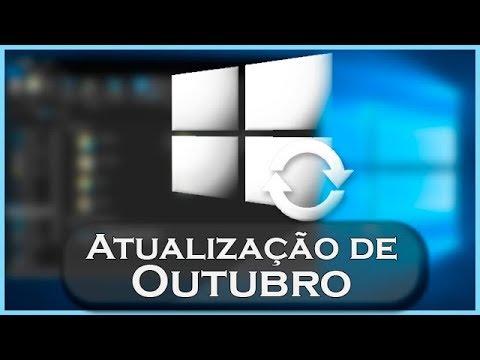 12 NOVIDADES DA ATUALIZAÇÃO DE OUTUBRO DO WINDOWS 10!