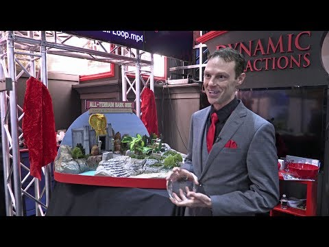 Dynamic Attractions - George Walker interview at IAAPA Expo2017