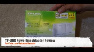 TP-LINK Powerline Adapter Review