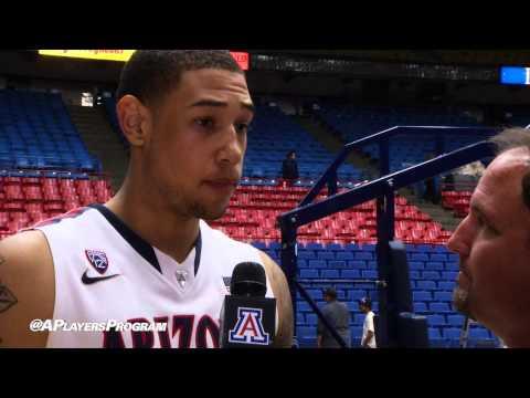Brandon Ashley Post-Game Interview with Ryan Hansen