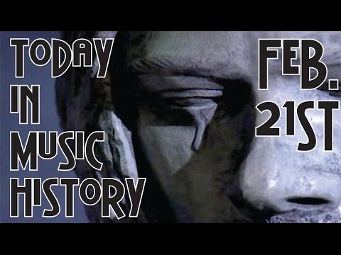 Today in Music History - February 21st!