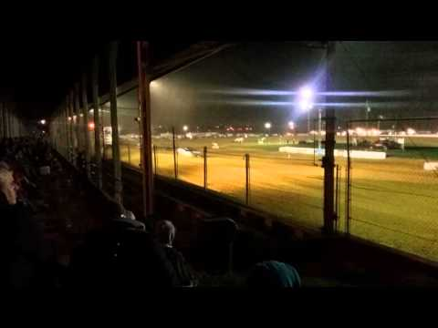 Brownstown Speedway Modified heat race part 2/2