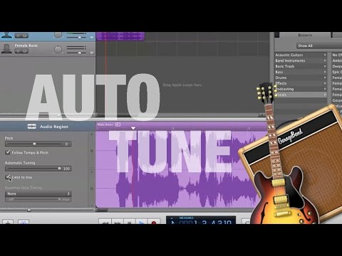 How to Auto-Tune your Voice in GarageBand
