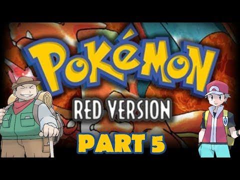 Let's Play Pokemon Red & Blue: Part 5 (Gameplay Walkthrough)