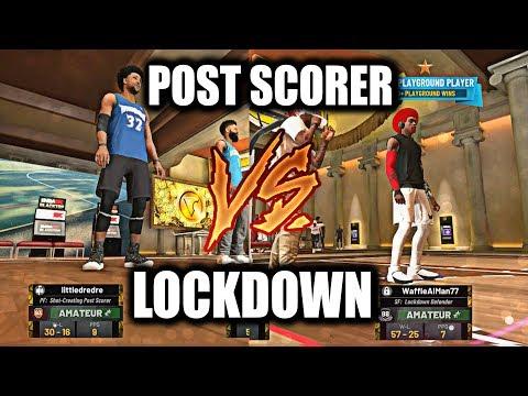 93 OVR V.I.P POST SCORER VS. LOCKDOWN DEFENDER ON ANTE-UP! GET HIM OUTTA HERE!- NBA 2K19
