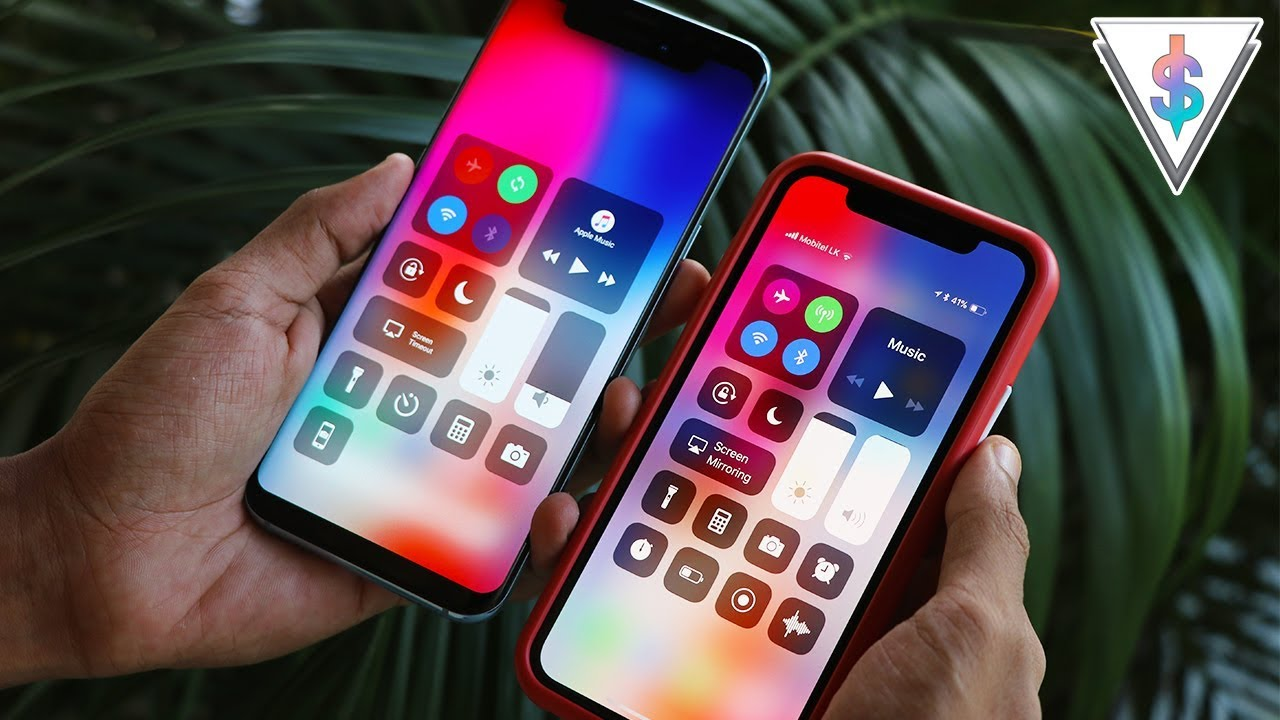 Turn your Android phone to an iPhone X/XS/XS Max running iOS! 🇱🇰