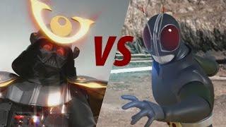 darth vader vs kamen rider black rx animated film parody