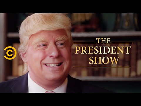 The Presidential Fitness Test – The President Show