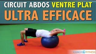 Circuit Abdos Ventre Plat avec Swiss Ball (GymBall)