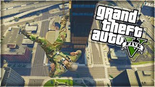 'STUNTS AND FUNNY MOMENTS!' GTA 5 Funny Moments (With The Sidemen)