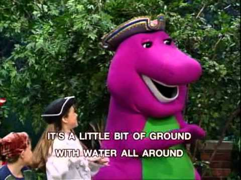 Barney  What Island Is Song