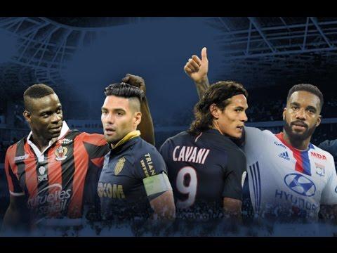 Balotelli, Falcao, Cavani, Lacazette... aiment la Ligue 1 !