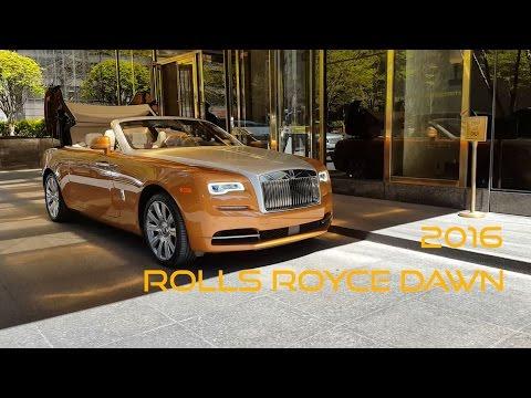 2016 Rolls Royce Dawn at Trump Tower New York - RARE - HD -