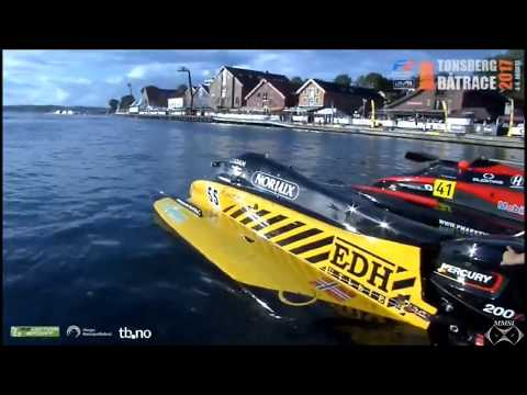Tonsberg, Norway Boatrace High Speed Boatrace August 4, 2017