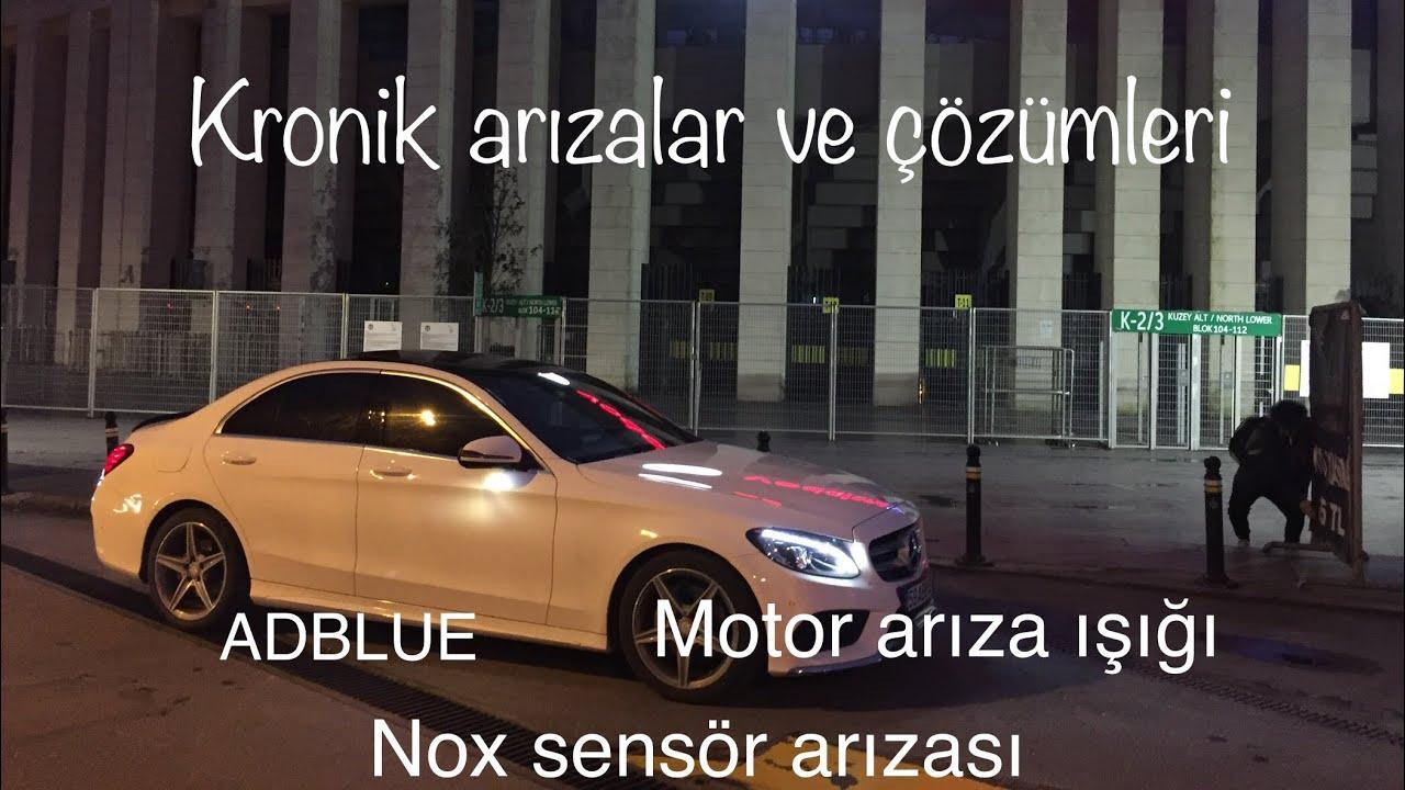 Mercedes araçlarda kronik arızalar sorunlar ve çözümleri w205 c200d