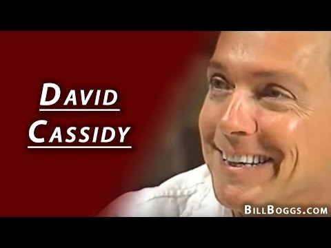 David Cassidy Interview with Bill Boggs