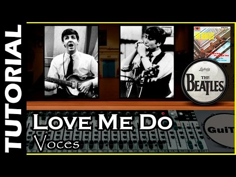 Cómo cantar Love me Do de The Beatles 🎤 / Tutorial para Voces 🎤