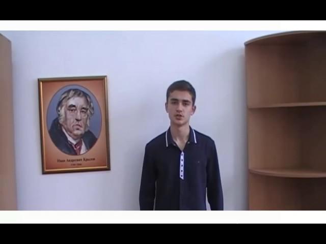 Изображение предпросмотра прочтения – НикитаБучнев читает произведение «Свинья под дубом» И.А.Крылова