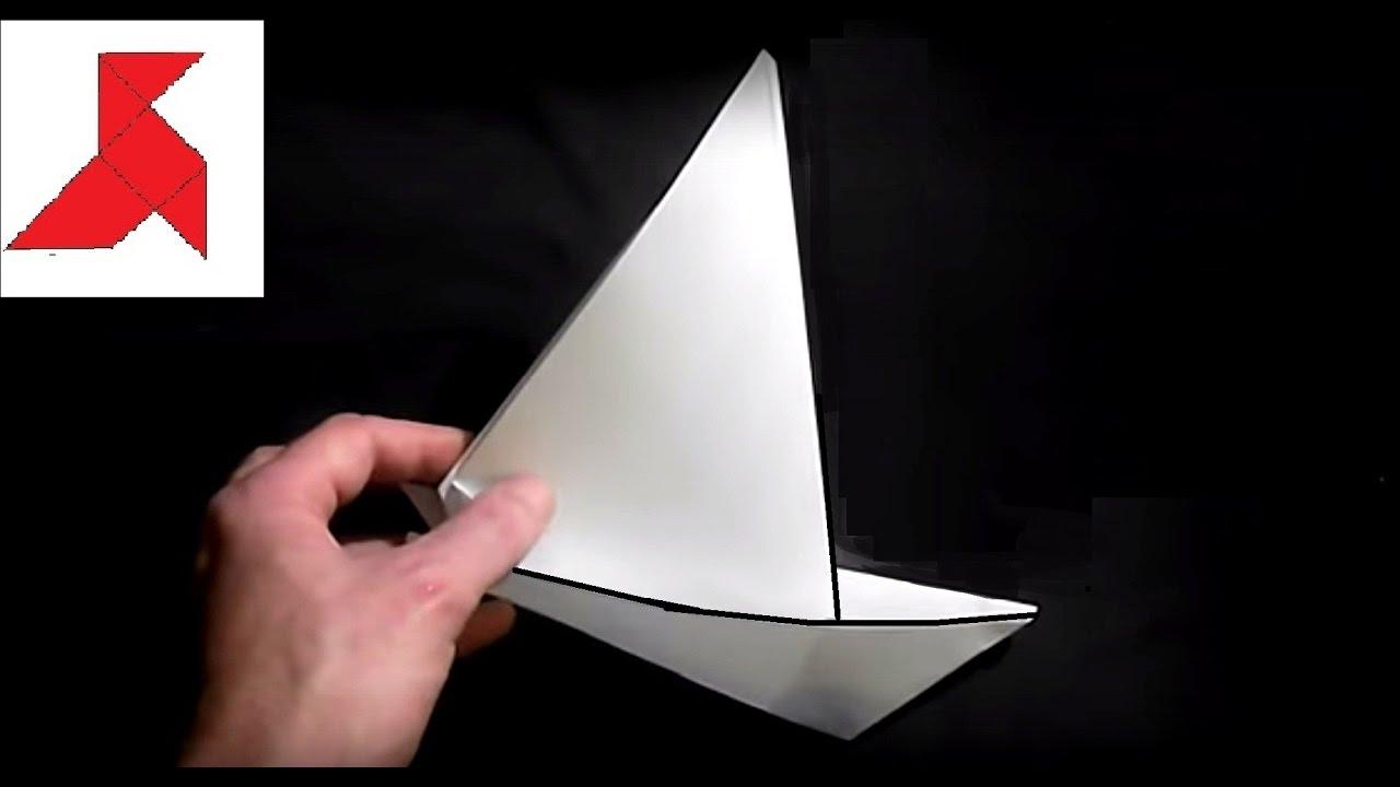 Кораблик из бумаги своими руками и