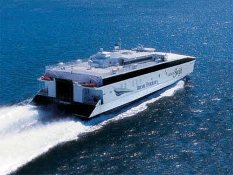 Ferry To Ireland From Holyhead >> Irish Ferries Dublin Swift Youtube