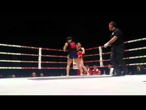 Youth Union Sports Club - Alex Tsang China fight 54kg Round 3