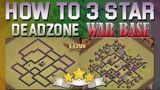 [TH8] Internet Base Beat - 2016 How to 3-star Deadzone War Base
