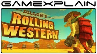 Dillon's Rolling Western - Video Review (Nintendo 3DS eShop) (Video Game Video Review)