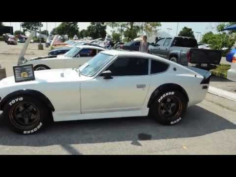 nissan datsun 240z fairlady z white youtube. Black Bedroom Furniture Sets. Home Design Ideas