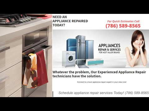 appliance repair Miami - the appliance repair in Miami!? Customer Review