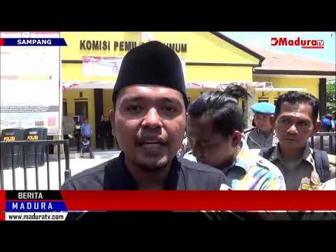 Demo Ratusan Gabungan LSM Tuntut Penyelenggara Pilkada Sampang Mundur Madura TV 18092018