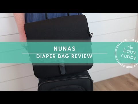 Nunas 1st Diaper Bag | Great For Travel