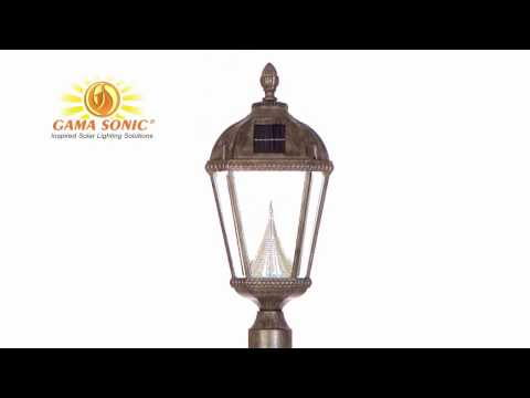 Royal Solar Post Top Lights | Gama Sonic