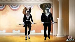 My Millie, Cavalier King Charles Spaniel Tap Dancing With Cruz, The Boxer Dog