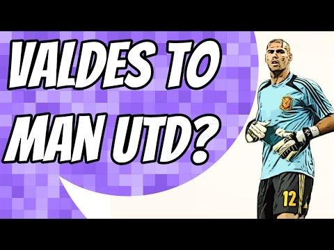 Víctor Valdés set to join Manchester United