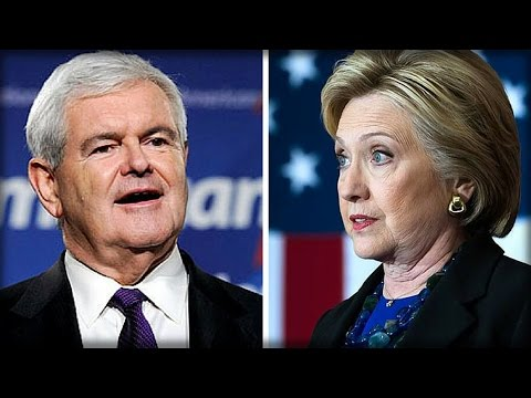 GINGRICH SAYS HILLARY'S 'OPEN BORDERS' DREAM COULD BE HER DEMISE