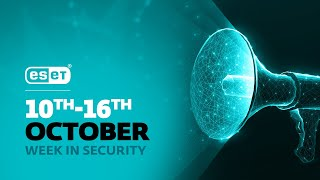 ESET helps disrupt Trickbot botnet – Week in security with Tony Anscombe